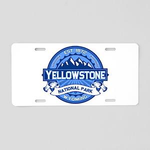 Yellowstone Blue Aluminum License Plate