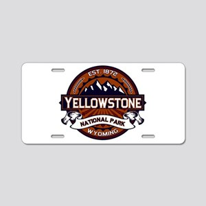 Yellowstone Vibrant Aluminum License Plate