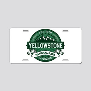 Yellowstone Forest Aluminum License Plate