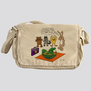 Tortoise and the Hare Revisited Messenger Bag