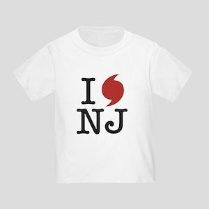 Hurricane Sandy New Jersey Toddler T-Shirt