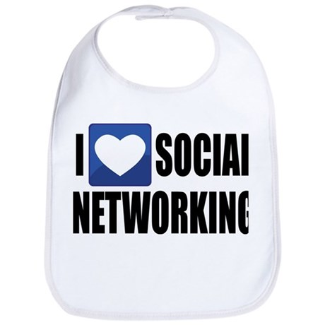 Social Networking Bib