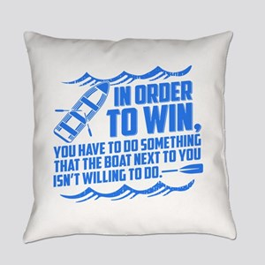 Rowing Saying Everyday Pillow