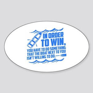 Rowing Saying Sticker