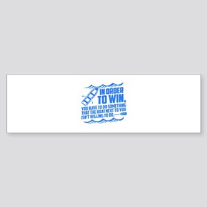 Rowing Saying Bumper Sticker