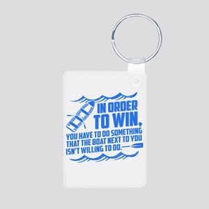 Rowing Saying Keychains