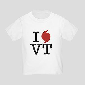 Hurricane Sandy Vermont Toddler T-Shirt