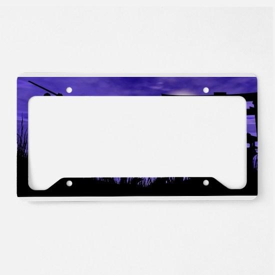 Silhouette Series License Plate Holder