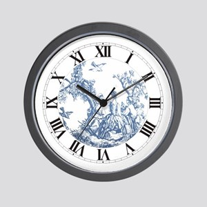 FRENCH TOILE Wall Clock