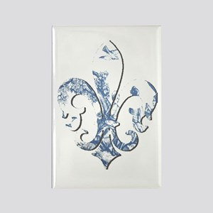 FRENCH TOILE Rectangle Magnet (10 pack)