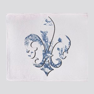 FRENCH TOILE Throw Blanket