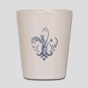 FRENCH TOILE Shot Glass