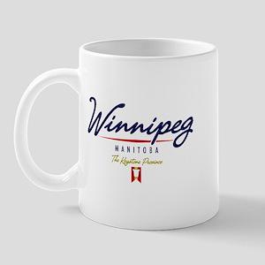 Winnipeg Script Mug