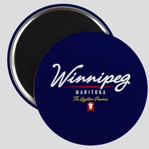 Winnipeg Script Magnet