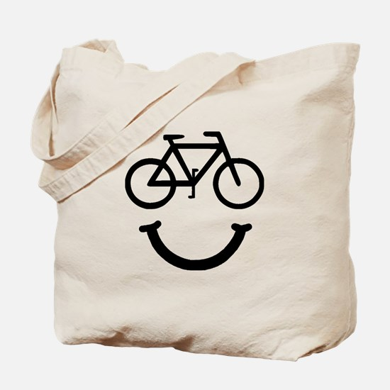 Bike Smile Tote Bag