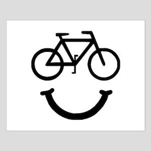 Bike Smile Small Poster
