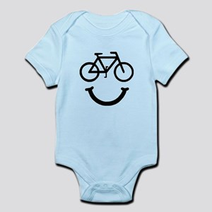 Bike Smile Infant Bodysuit