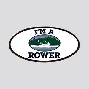 I'm A Rower Patch