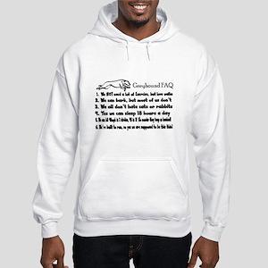 Greyhound FAQ Hooded Sweatshirt
