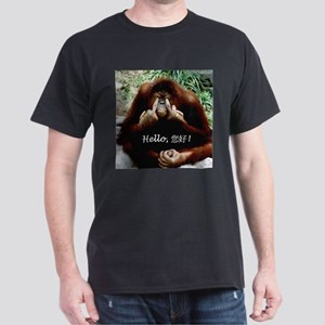 Chinese Funny Ape Dark T-Shirt
