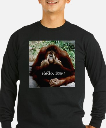 Chinese Funny Ape T