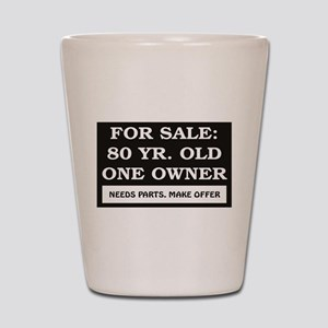 For Sale 80 year old Shot Glass