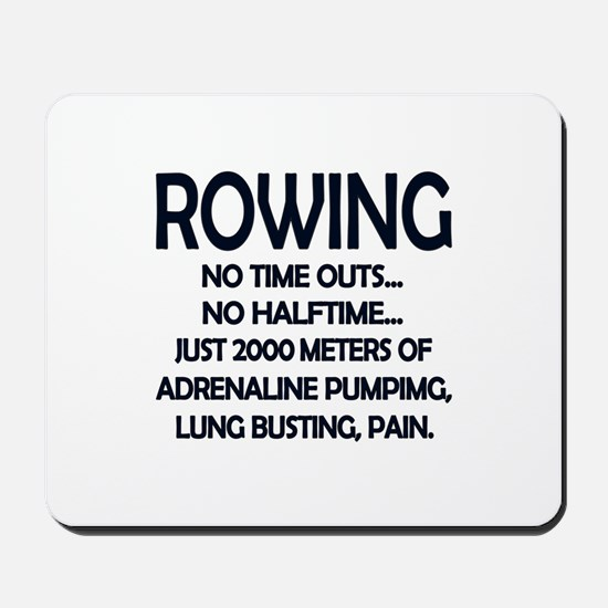 Rowing - 2000 Meters Mousepad