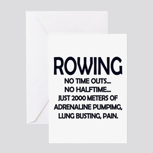 Funny rowing greeting cards cafepress rowing 2000 meters greeting cards m4hsunfo