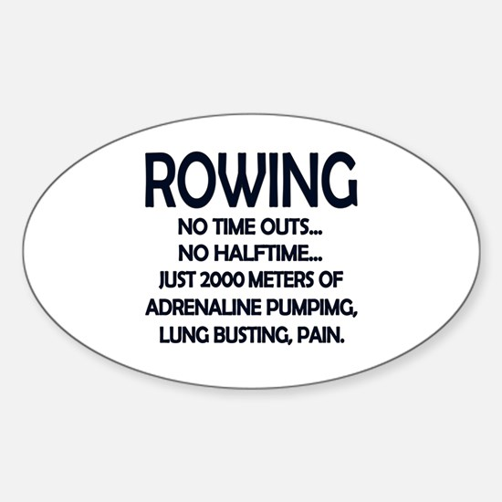 Rowing - 2000 Meters Decal