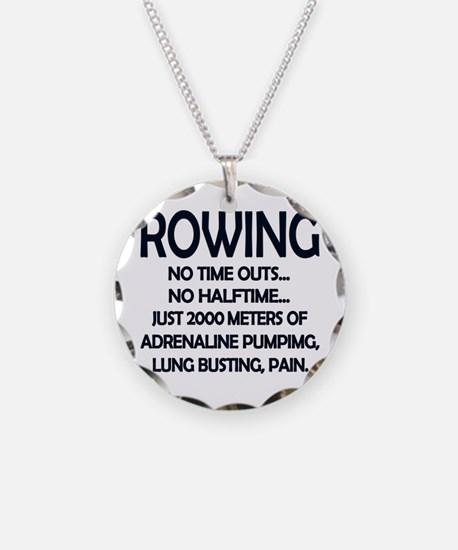Rowing - 2000 Meters Necklace