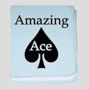 Amazing Ace baby blanket