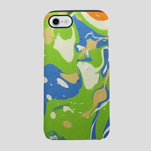 Acrylic Pour 1 iPhone 7 Tough Case