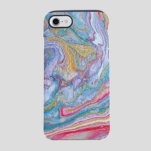 Acrylic Pour 2 iPhone 7 Tough Case