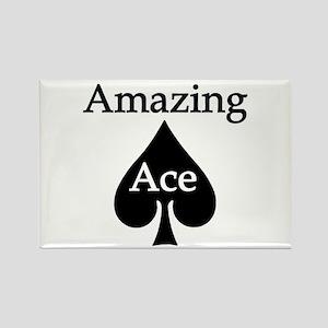 Amazing Ace Rectangle Magnet