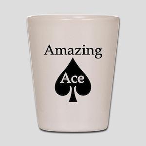 Amazing Ace Shot Glass