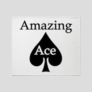 Amazing Ace Throw Blanket
