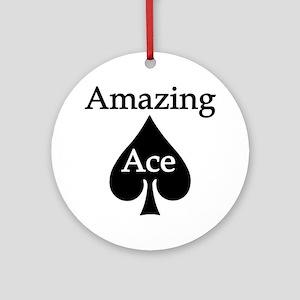 Amazing Ace Ornament (Round)