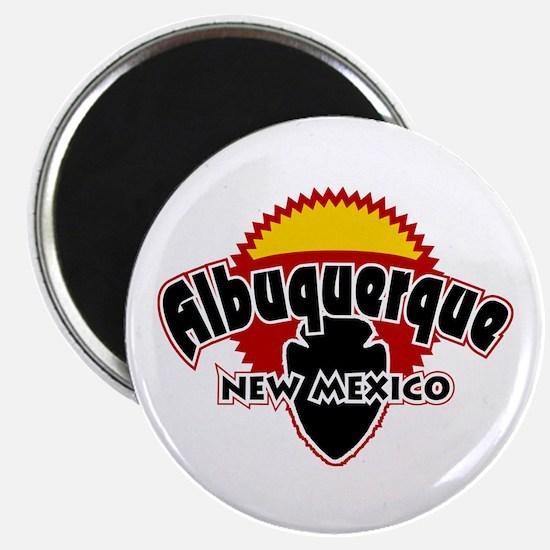 Albuquerque Sun Magnet