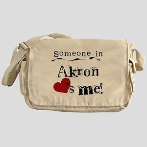 Akron Loves Me Messenger Bag