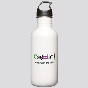 Co-Exist With Peace Stainless Water Bottle 1.0L