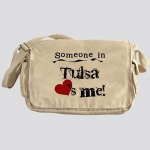 Tulsa Loves Me Messenger Bag