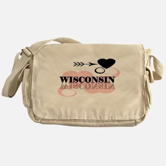 Wisconsin Messenger Bag