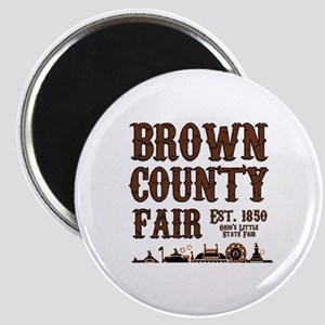 Brown County Fair Magnet