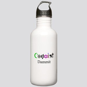 Coexist Dammit! Stainless Water Bottle 1.0L