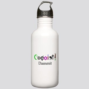 Coexist Dammit! 2 Stainless Water Bottle 1.0L