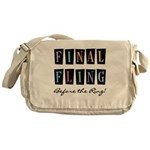 Final Fling Bright Colors Messenger Bag