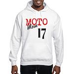 moto mom Hooded Sweatshirt