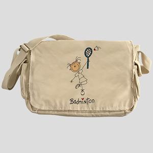 Girl's Badminton Messenger Bag