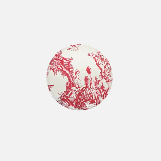 FRENCH TOILE Mini Button