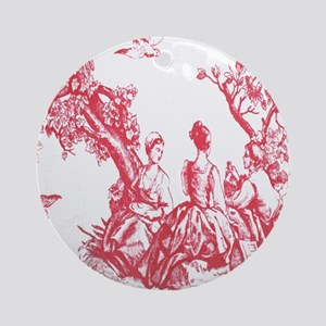 FRENCH TOILE Ornament (Round)